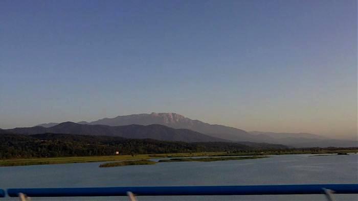 دریاچه سد سنگر